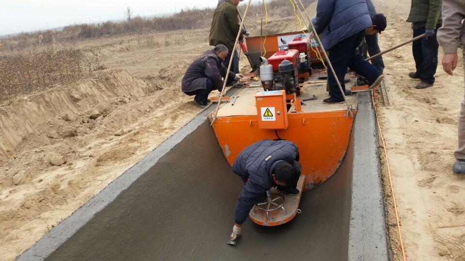 排水沟成型机,混凝土打渠机