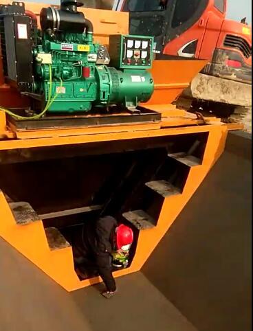 梯形现浇成型机,3.25米水渠现浇滑膜机