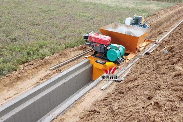 混凝土水沟滑模机
